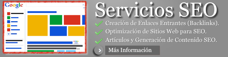 servicios seo, servicio de creacion de backilinks o enlaces entrantes, creacion de contenido para seo optimizacion de sitios web
