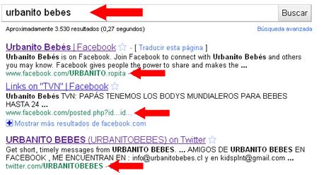 Posicionamiento web en redes sociales, posicionamiento web en Facebook