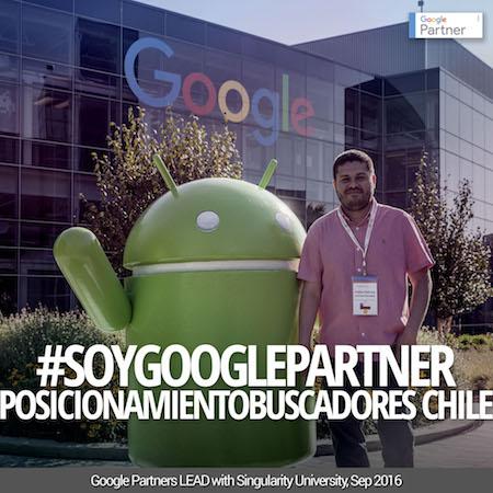 PosicionamientoBuscadores Chile participó en en Google Partners Lead Realizado en Silicon Valley, California Estados Unidos