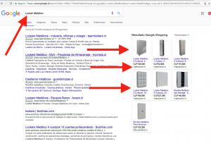 Camapaña Google Shopping