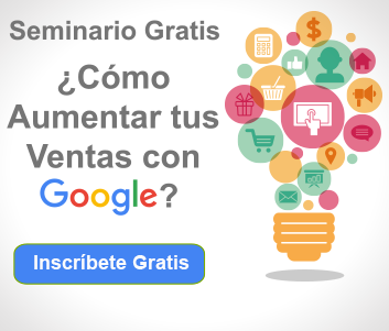 seminario de marketing digital como aumentar tus ventas con google