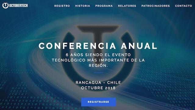 CONFERENCIA ANUAL 6 AÑOS SIENDO EL EVENTO TECNOLÓGICO MÁS IMPORTANTE DE LA REGIÓN.