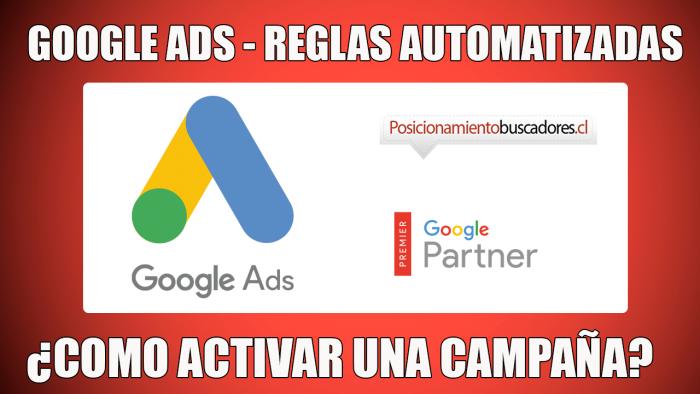 Reglas Automatizadas Google Ads para ganar tiempo en google ads