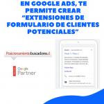 extensiones de formularios en google ads