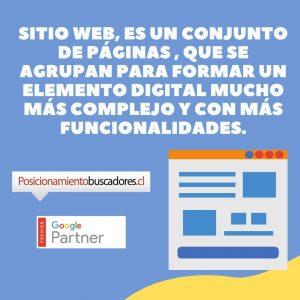 diferencia entre paginas web y sitios web